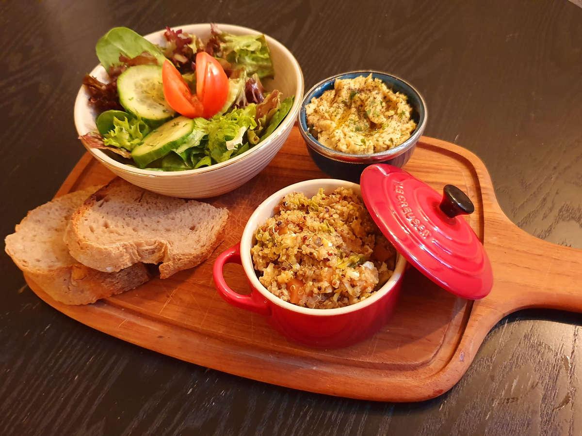 Soulfood – Vegan Essen in der Rösterei Heer